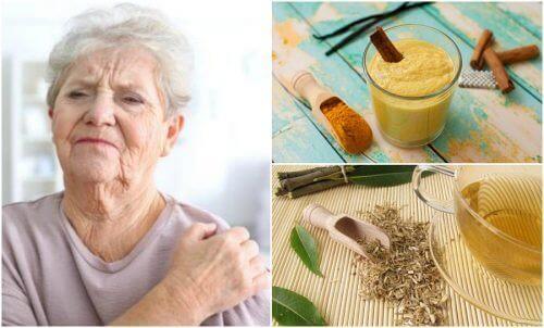 Os 6 melhores remédios naturais para reduzir a dor da artrite