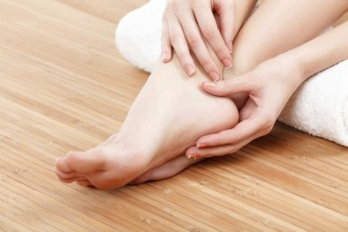 Exercício para fortalecer os pés