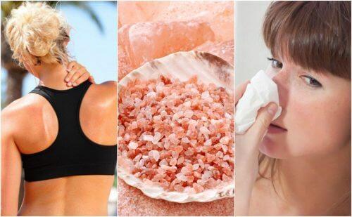 Os 10 principais benefícios do sal rosa do Himalaia