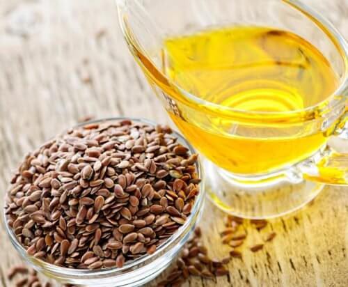 Sementes e óleo de linhaça contra a prisão de ventre