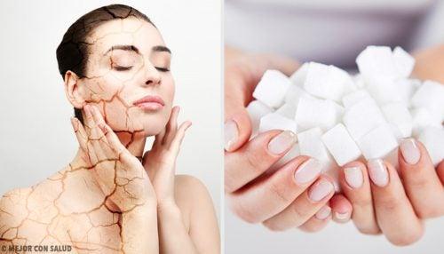 3 esfoliantes corporais com açúcar para combater a pele seca