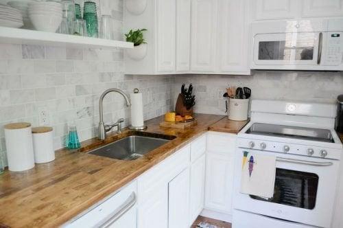 4 ideias perfeitas para decorar cozinhas pequenas