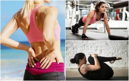 5 exercícios que beneficiam os músculos das costas