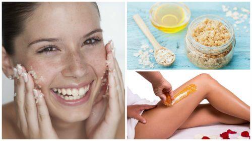 5 tratamentos de beleza com açúcar para os problemas mais comuns da pele
