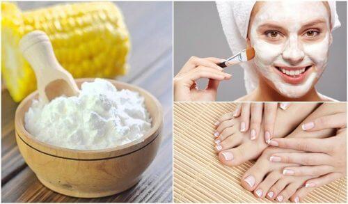 5 usos alternativos do amido de milho
