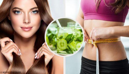 6 benefícios do suco de pepino