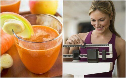 6 benefícios que obtemos ao consumir suco de cenoura e gengibre