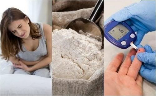 6 possíveis consequências de comer farinha refinada