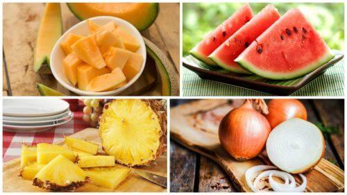 7 alimentos diuréticos que convém adicionar a sua dieta