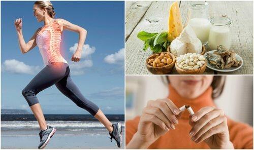 7 hábitos que ajudam a prevenir a osteoporose