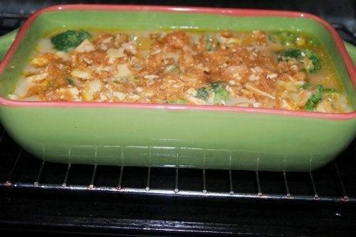 Brócolis com manteiga
