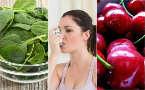 Combata a asma de forma natural consumindo estes 7 alimentos