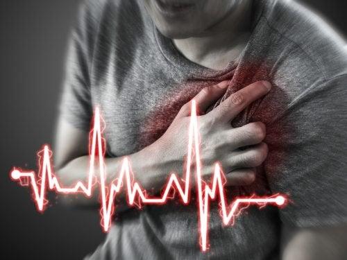 A epigastralgia pode simular um infarte