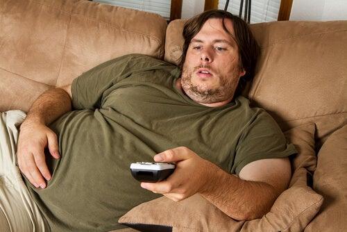 Sobrepeso pode fazer você sentir papitações