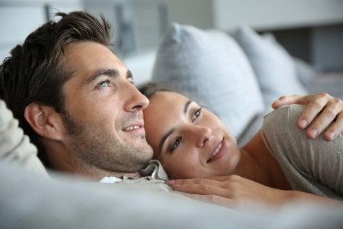 Amor estável entre casal