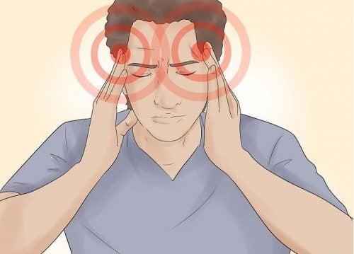 Os sintomas da dor de cabeça causada pelo estresse