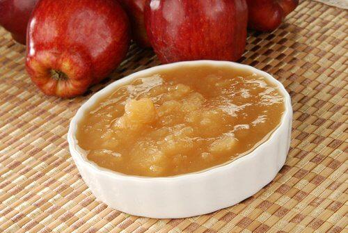 Purê de maçã para aliviar a conjuntivite naturalmente