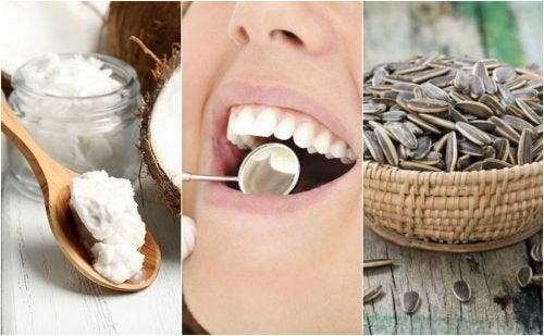 6 soluções naturais para reduzir a placa bacteriana