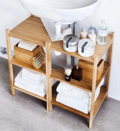 Móveis para decorar seu banheiro