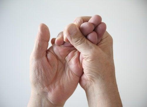Mãos frias