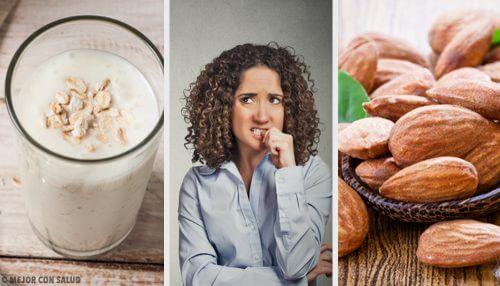 10 alimentos que acalmam a ansiedade naturalmente