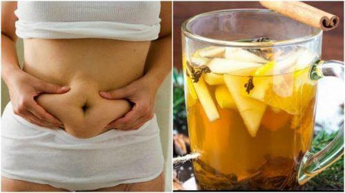 Como preparar uma bebida para perder peso com chá verde, abacaxi e canela