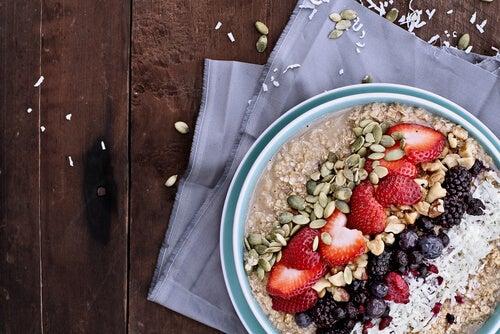 Sementes podem ser adicionadas para um café da manhã energético