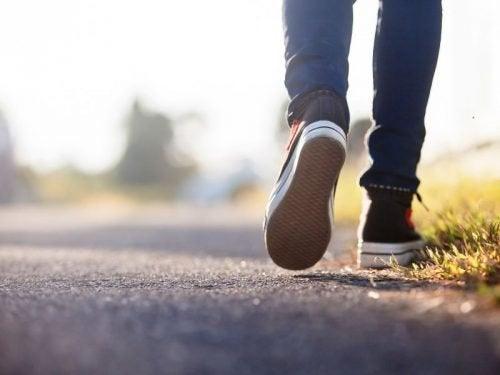 Quando deixamos de caminhar nosso cérebro muda