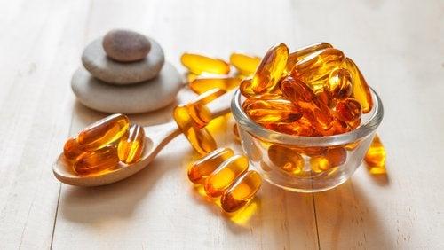 Cápsulas de vitamina E para estimular a atividade cognitiva