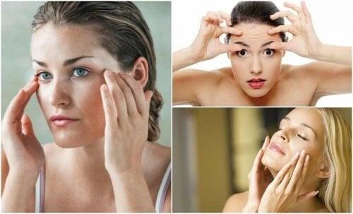 Como evitar a flacidez no rosto com 6 exercícios faciais