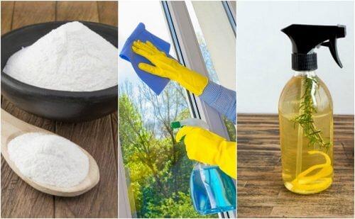 Como preparar seu próprio limpa-vidros ecológico com 5 receitas caseiras