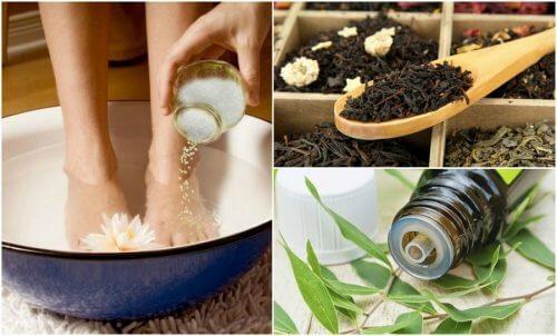 Como reduzir a transpiração nos pés com 5 remédios caseiros