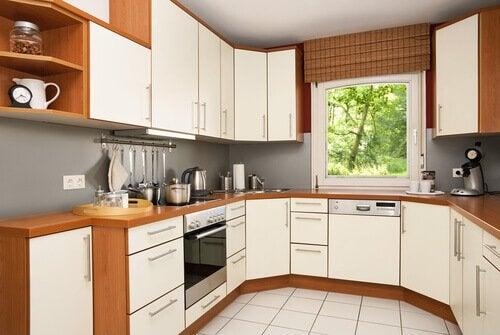 Cozinha em forma de U
