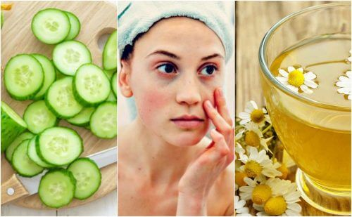 Como reduzir bolsas e olheiras usando 5 ingredientes naturais