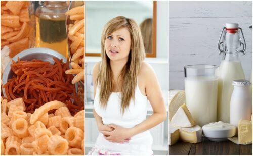 Alimentos bons pra dor de barriga