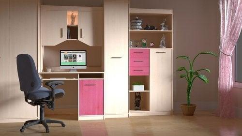 Casa arrumada fornece uma ambiente mais relaxado