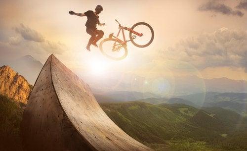 A adrenalina dos esportes radicais