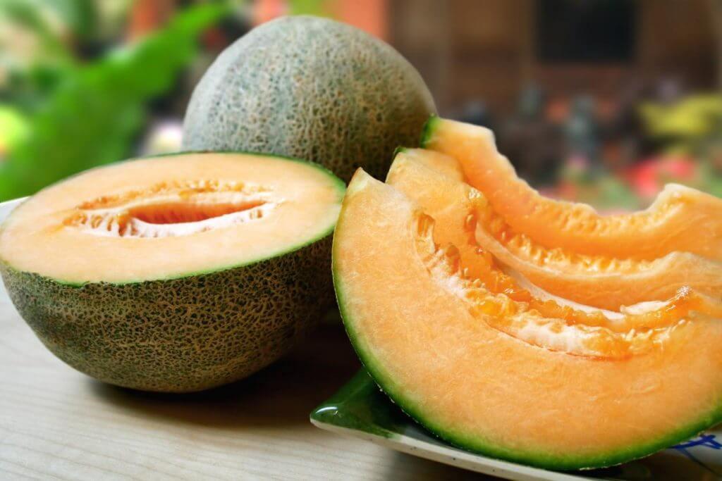 O melão contém potássio