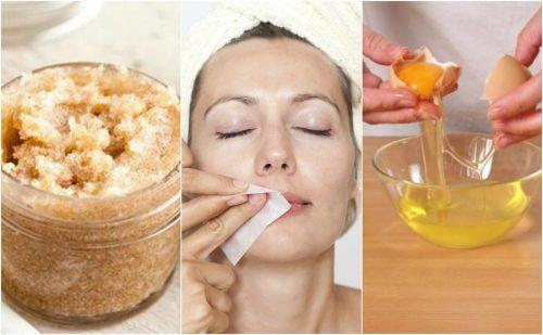 4 produtos naturais para remover os pelos