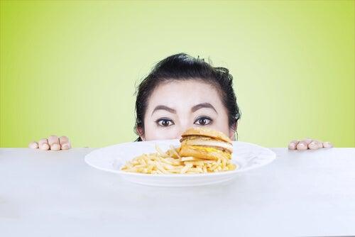 Uma má alimentação influi no equilíbrio físico e mental