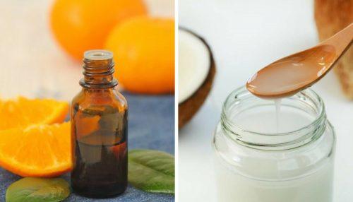 Óleo nutritivo de coco e cítricos para uma pele mais macia, iluminada e sem manchas