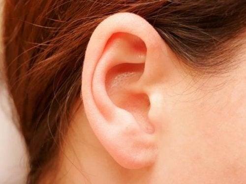 Cuidar das orelhas enquanto toma banho