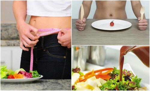 Os 7 erros que você deve evitar ao adotar uma dieta para perder peso