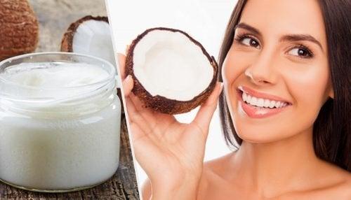 Usos do óleo de coco nos dentes