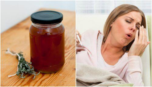 Como preparar um xarope caseiro de tomilho e alcaçuz para aliviar a tosse