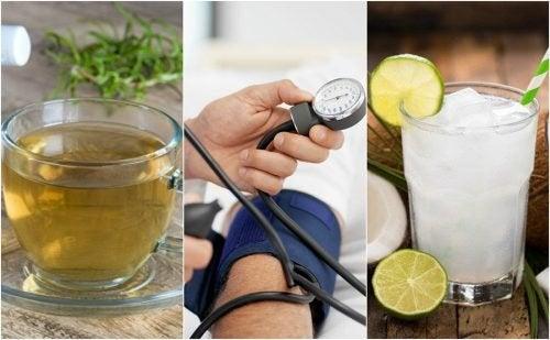 5 remédios naturais para controlar a pressão baixa