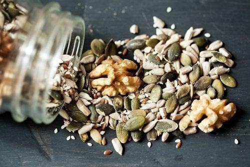 Que sementes incorporar na sua dieta
