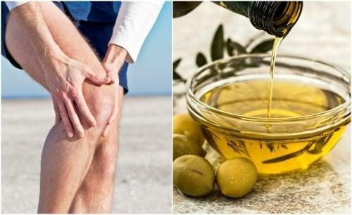 Remédio de casca de limão e azeite de oliva para acalmar a dor nas articulações