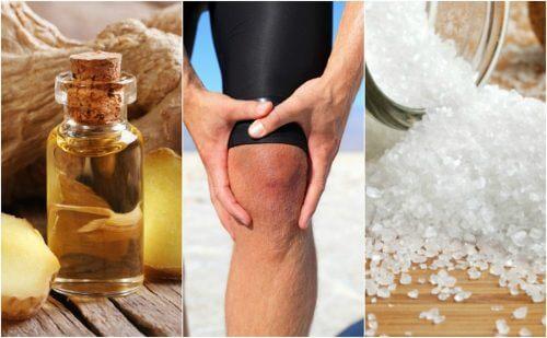 Como fazer 5 remédios relaxantes para aliviar a dor nos joelhos