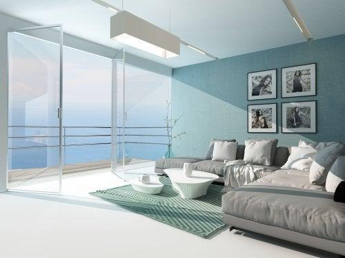 Ambiente grande na casa